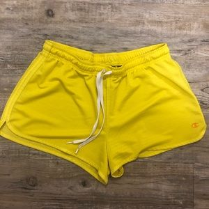 Like New Yellow Champion Shorts